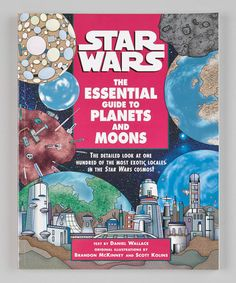 Take a look at this Star Wars: The Essential Guide to Planets and Moons Paperback by Star Wars on #zulily today!