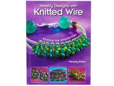 Educate yo' self! Here is the latest book from Jewelry Designer, Nealay Patel. Get the look of intricate, beaded wirework, simply by stitching! Nealay Patel introduces over 30 fun, innovative designs, each stitched on a shining frame of knitted wire. This beautiful knitted wire cord is the perfect backdrop for easy beadwoven designs, and jewelry makers can choose from a wide range of colors, sizes, and looks. Nealay's easy-to-follow photos and illustrations guide jewelry makers through each…