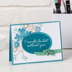 Durch die Blume Photopolymer Stamp Set (German) by Stampin' Up!