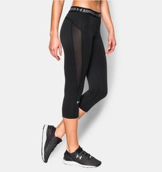 Shop Under Armour for Women's UA HeatGear® CoolSwitch Capri in our Womens Bottoms department.  Free shipping is available in US.