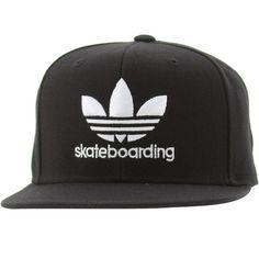 Adidas Skate Original Snapback Cap (black) Q18121 - $26.00
