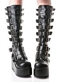 d8c40f65944 Billedresultat for gothic shoes and boots uk