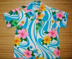 Mens Vintage 60s Laugh In Trippy Mod Swirls Shirt