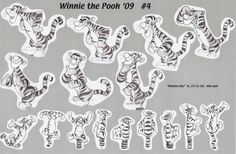winnie the pooh eeyore character design sheet - Google Search