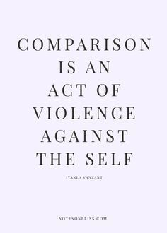 Quotes about comparison. You are unique!!!