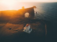 Over the lighthouse by Daniel Casson
