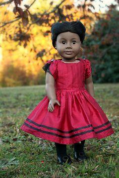 Heritage Doll Fashions=  American Girl Doll Addie