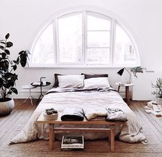 Floor Bed Ideas: natural light