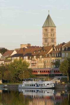 Gutermann-Promenade- http://www.schweinfurt360.de/ #Gutermann-Promenade #Schweinfurt #Main
