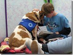 R.E.A.D. Reading Education Assistance Dogs