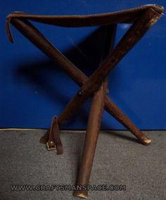Finished fishing stool
