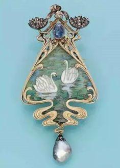 Остановись, мгновенье: 50 изысканных украшений в стиле Art Nouveau - Ярмарка Мастеров - ручная работа, handmade