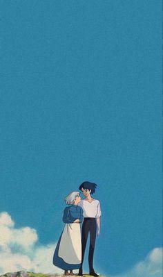 Wallpaper Animes, Anime Scenery Wallpaper, Cute Anime Wallpaper, Animes Wallpapers, Cute Wallpapers, Studio Ghibli Art, Studio Ghibli Movies, Totoro, Chica Anime Manga