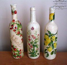 wine bottle decor - Bing Images