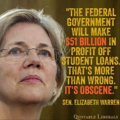 We're suppose to be supporting the education of the public, not putting a millstone around their necks.