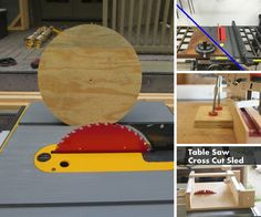 Sleds, jigs, and mods -- oh my! Your table saw can do a lot more than make straight cuts. These Instructables will show you how to make circles, cut dowels, make box joints, and more!