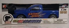 RC LO RIDERS Blue Truck radio controlled. New in box 1:20 3+