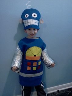 Kid's robot costume