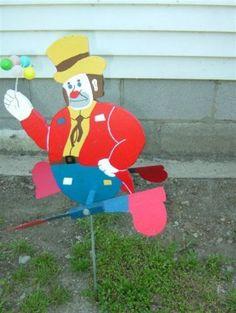 Clown-Whirligigs-Garden-Yard-Decoration-Stake