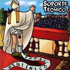 """Soporte Técnico presentan su nuevo sencillo """"Papel Higiénico"""" http://crestametalica.com/soporte-tecnico-presentan-su-nuevo-sencillo-papel-higienico/ vía @crestametalica"""
