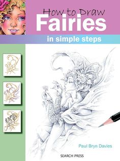 How to Draw in Simple Steps - Fairies