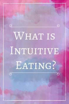 What is intuitive eating? Intuitive eating is going back to your roots and learning to trust your body. Learning To Trust, Benefits Of Coconut Oil, Diet Challenge, Intuitive Eating, Healthy Living, Eating Healthy, Mindful Eating, Body Image, Health Coach