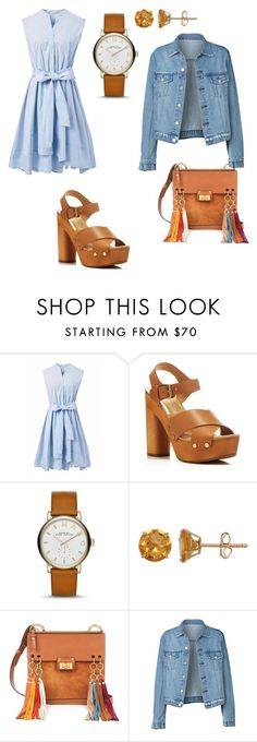 """""""Untitled #15"""" by mageleane ❤ liked on Polyvore featuring Chicwish, Dolce Vita, Marc Jacobs, Everlasting Gold and Chloé"""