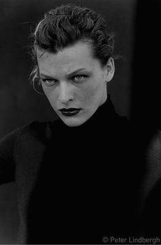 Peter Lindbergh, 'Milla Jovovich, New York,