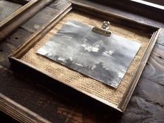 20x20 Rustic Barnwood And Burlap Picture Frames Made From Reclaimed Pallet Wood
