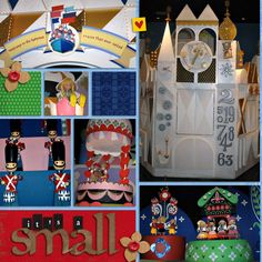 It's A Small World - MouseScrappers.com