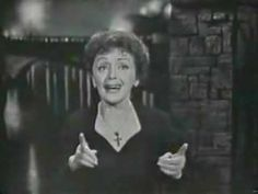 """""""Milord"""" (1959) - By Marguerite Monnot & Georges Moustaki - Performed By Edith Piaf"""