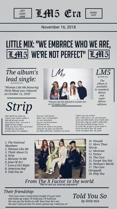 Can I get a subscription to this? Jesy Nelson, Perrie Edwards, Little Mix Glory Days, Little Mix Lyrics, Litte Mix, Little Mix Style, Girl Empowerment, Best Albums, Girl Bands
