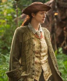 "Terry Dresbach: ""Many of you have asked me what my favorite costume was.It is Claire's, when she becomes a song and dance man"". ~ Episode 1 x14 ""The Search"""