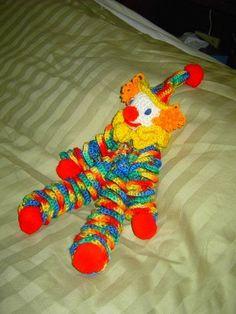 Clown Pattern - crocheted - Crocheting them doesn't make them any less creepy!
