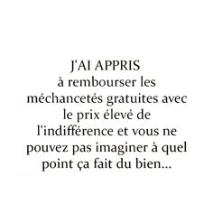 Best Funny Quotes Ever, French Qoutes, Affirmation Quotes, Badass Quotes, Love Words, Affirmations, 18th, High Level, Happy