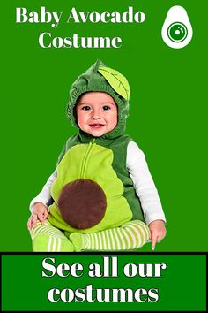 If your little one fan of avocados, you must get this baby avocado costume for your children! Made to fit perfectly to all toddler, he or she will be delighted to wear it! Check it out on our avocado costume collection! Avocado Costume, Costume Collection, A Funny, Your Child, Fan, Costumes, Children, Check, The Originals