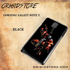 Deadpool Black Background Black White Snap On Or 3D For Samsung Galaxy Note 3
