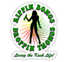 Rippin Bongs-1 (solid) Sticker