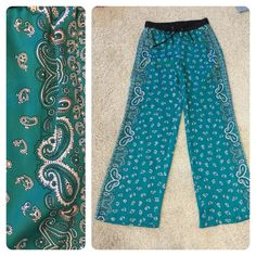 Michael Michael Kors pants Perfect pants to throw on for an easy out the door pulled together comfortable look. Wear these beauties with a tank, sweater or blazer!  Pretty teal color. Drawstring waist. MICHAEL Michael Kors Pants