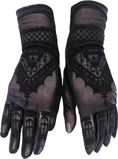 The Henna Gloves by Restyle are a pair of beautiful black mesh gloves to really complete a gothic look! In a gorgeous swirling flocked pattern, they are guaranteed to be your new favourite accessory! Grunge Style, Soft Grunge, Goth Style, Gothic Metal, Kei Visual, Velvet Glove, Mehndi Patterns, Gothic Outfits, Henna Mehndi