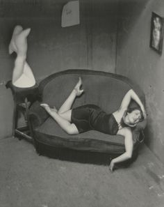Satiric Dancer; André Kertész (American, born Hungary, 1894 - 1985); Paris, France; 1926; Gelatin silver print; 24.8 x 19.7 cm (9 3/4 x 7 3/4 in.); 84.XM.193.29; J. Paul Getty Museum, Los Angeles, California
