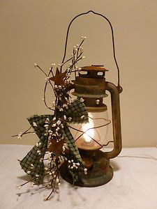 lantern, did this with mine I got at an auction turned out great