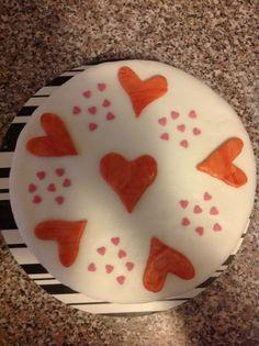 Herz Fondant Torte