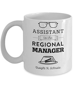 Istant To The Regional Manager By Trinkets Novelty Office Merchandise This 11 Oz Tv Show Inspired Michel Scott Dwight Jim Coffee Mug Is