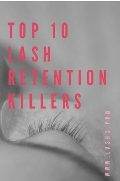 The top 10 things you might be doing that actually shorten your clients' lash extensions wear. Fix these little issues and deliver 6-8 week lashes.