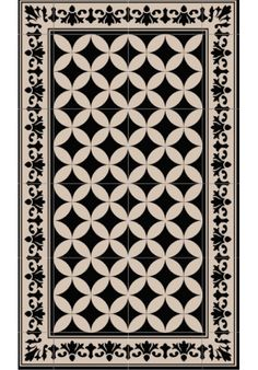 Tapis vinyl carreau de ciment sofi