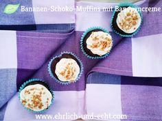 sehr lecker! Cremig, fruchtig, schokoladig, vegan! #vegane Kuchen #vegane Muffins #ehrlichundecht #cellaiscooking