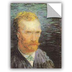 Self Portrait (Summer 1887) by Vincent Van Gogh Art Appeelz Removable Wall Mural