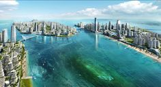 Set to be complete by 2040, Forest City will be located on four man-made Malaysian islands. Construction began in early 2016, and the project is expected to be the largest overseas project by a Chinese developer.