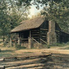 Old Matt's homestead - The Shepherd of the Hills- near Branson, Mo.